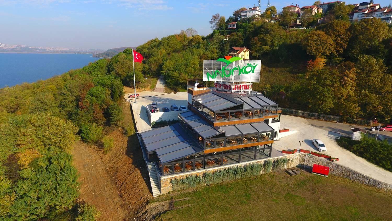 Sapanca Natürköy Seyir Terası Yükseliyor